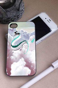 Haku Spirited Away   Movie   iPhone 4 4S 5 5S 5C 6 6+ Case   Samsung Galaxy S3 S4 S5 Cover   HTC Cases