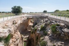 Ancient water system in Sepphoris, Israel