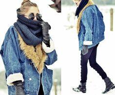 80's (by Kasia Gorol) http://lookbook.nu/look/4483271-8-s    80's retro winter chic  http://stylleaccordingtome.tumblr.com/