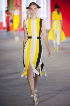Roksanda Ilincic:Spring/Summer 2014:Review | ELLE UK