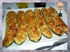 Cooking with Paco: Zucchini stuffed with tuna de verduras cazuela guarniciones faciles Easy Healthy Recipes, Vegan Recipes, Easy Meals, Cooking Recipes, Healthy Food, Empanada, Fish Recipes, Vegetable Recipes, Salada Light
