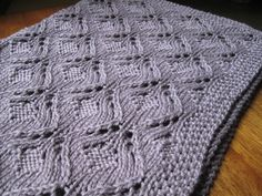 Pure Baby Blanket Pattern