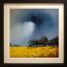 www.barryhiltonart.co.uk Landscape Artwork, Abstract Landscape Painting, Landscape Pictures, Watercolor Landscape, Watercolor Paintings, Fields In Arts, Irish Painters, Jewish Art, Light Painting