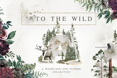 Into The Wild by AurAandTheCat on @creativemarket