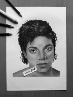 The one and only Michael Jackson!   SOCIAL MEDIA:  Instagram/Facebook/Youtube: picture_fan1  #michaeljackson #art #drawing #inspiration #artist #portrait #blackandwhite #pencil #panpastel #youtube #instagram #facebook