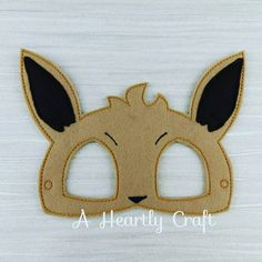 Pokemon Evie Felt Mask Fancy Dress Up Halloween Party Favor Eevee inspired by…