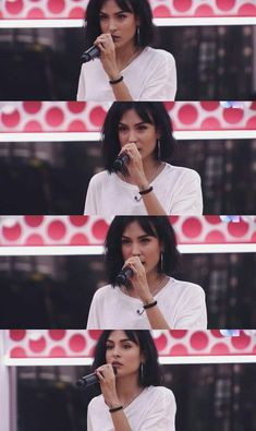 Natalia Lacuzna//Eilan Bay My World, Bangs, Beautiful People, Crushes, Tv Shows, Hair Makeup, Celebrities, Hair Styles, Singers