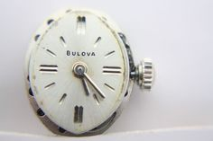 5AT BULOVA 21J WATCH MOVEMENT RUNS GREAT