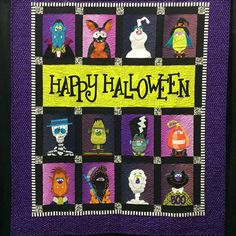 For the last day of the #soakphotoaday #soakphotochallenge I'm celebrating Halloween with this #soak worthy quilt.