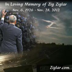 Wordless Wednesday - R.I.P. Zig Ziglar (November 6, 2012 to November 28, 2012) - http://motherbabychild.blogspot.com/2012/11/zig-ziglar-died-today-may-he-rest-in.html - Thank you for the years of inspiration.