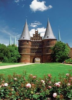 Holstein Gate, Lubeck, Germany