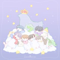 Best Anime Drawings, Kpop Drawings, Got7 Fanart, Kpop Fanart, Yugyeom, Got7 Mark Tuan, My Bebe, I Got 7, Bts Chibi