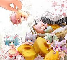 Nekomimi Anime Girl Chibis