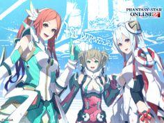 phantasy star online Fantasy Star, Anime Fantasy, Character Concept, Character Design, Phantasy Star Online 2, Manga Love, Manga Art, Dungeons And Dragons, Animation