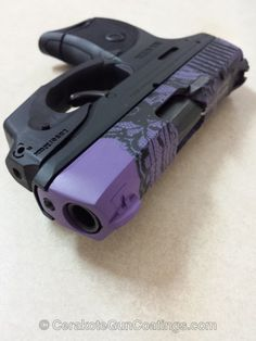 Cerakote Coatings: H-146 Graphite Black with H-217 Bright Purple