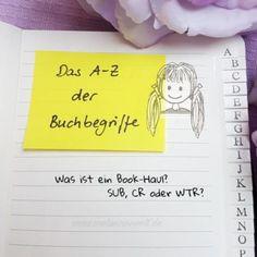 Abkürzungen und Begriffe rund um das Buch – heute zum Nachlesen auf www.melusineswelt.de!  #cr #abkürzungen #WTR #buch #bücher