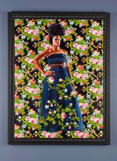 Another beauty from artist Kehinde Wiley.