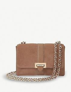 838e916737 ASPINAL OF LONDON - Lottie suede and leather bag | Selfridges.com  #leatherbagslondon