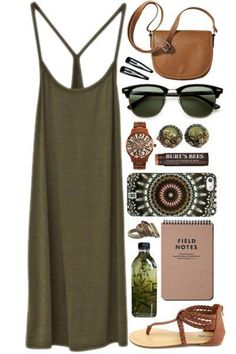 【时尚单品】除了黑白色,喜欢个性打扮的女孩一定要尝试这超夯的【军绿】穿搭风格!