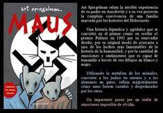 Maus. Art Spiegelman. EduRead: #RecomiendoLeer @davidgscom Art Spiegelman, Book Reviews, Recommended Books
