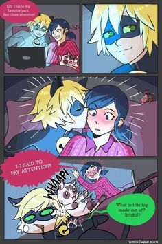 Miraculous: Tales of Ladybug & Cat Noir on We Heart It Ladybug E Catnoir, Comics Ladybug, Ladybug Und Cat Noir, Ladybug Cakes, Marichat Comic, Marinette Ladybug, Miraculous Ladybug Fan Art, Marinette And Adrien, Kids Shows