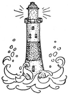 Lighthouse keepers lunch coloring book pages ~ Lighthouse Coloring Book Pages   Lizzie   Pinterest ...