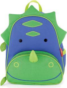 Skip Hop Zoo Dinosaurier Kinderrucksack, blau/grün #Rucksack #Tasche #Gepäck #Schulrucksack #Tiere #Kind #Galaxus