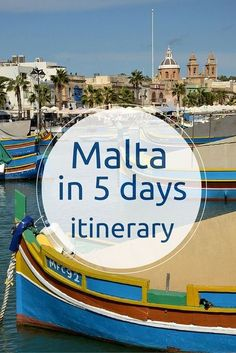 I've spent 5 days in Malta and used this time the best I could. Click on the picture or visit www.mywanderlust.pl to see my itinerary!