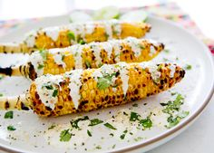 MEXICAN STREET CORN {INSPIRED} via A House in the Hills