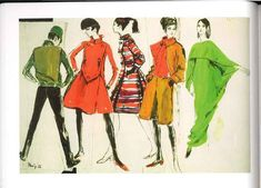Claire Mccardell Sketches