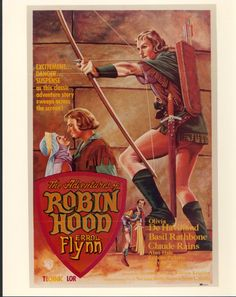 5/15/14  9:05a   Warner Bros. Pictures  ''The Adventures of Robin Hood''   Errol Flynn 1938