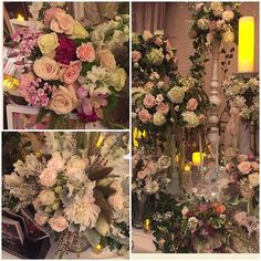 #BridalBouquet #WeddingFlower #Wedding #Hydrangeas #Roses #Orchids #Flowers