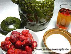 Rezept Rumtopf Rezept auf Mamas Rezepte Homepage