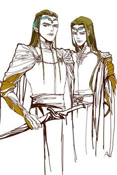 Elladan and Elrohir - Sons of Elrond