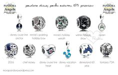 Pandora Disney Parks exclusive charms for AW15!