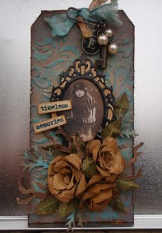 the doghouse: tim holtz - 12 tags of 2012 - august