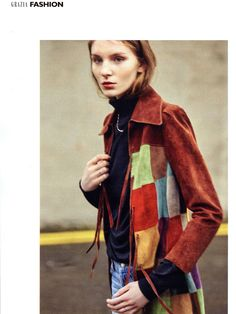 Grazia Magazine: John Smedley women's roll neck sweater