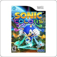 Wii Sonic Colors R$89.90