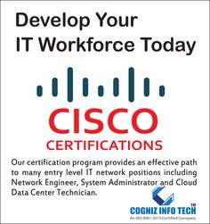 Aspiring for a Technical Administration career. Then join your hands with Info Tech. Cisco Certifications, Cloud Data, Network Engineer, System Administrator, It Network, Entry Level, Career, Engineering, Join
