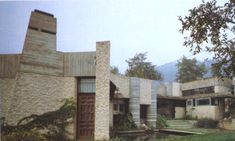 """Villa Ottolenghi , Bardolino , Italia , 1975 """"... la poesia nasce dalle cose in sé ... """"  Carlo Scarpa"""