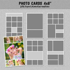 Months Photo Storyboard Templates  Instant Download  Digital