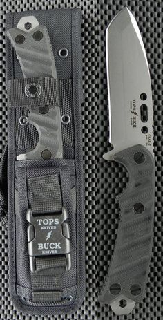 Buck Knives 0690BKSTP TOPS Buck CSAR-T Fixed Blade Tactical Knife Buck Knives, Cool Knives, Knives And Tools, Knives And Swords, Tactical Knives, Tactical Gear, Survival Knife, Survival Gear, Edc Knife