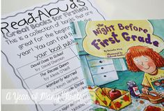 great books for read alouds