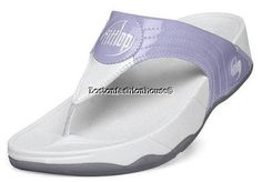 FIT FLOP WALKSTAR III BLUEBERRY THONG FITNESS SANDALS US 5 EURO 36 BRAND NEW $50.00  www.BostonFH.com #BostonFH  #fitflops