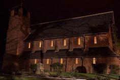 Beautiful and serene, the chapel at night. #fairbridge #festival #chapel #night #magical