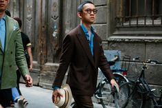 Photo Report: The Best Street Style From Pitti Uomo 92 - He Spoke Style