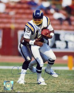 Charlie Joiner # 18 San Diego Chargers 1969-1986