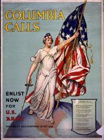 Vincent Aderene, artist. Columbia calls--Enlist now for U.S. Army