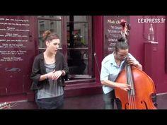 """zaz """"les passants"""" live in montmatre"""
