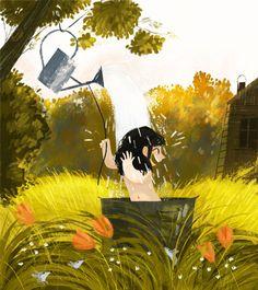 NB Illustration's artist Olga Demidova portfolio can be see at www.nbillustration.co.uk/olga-demidova